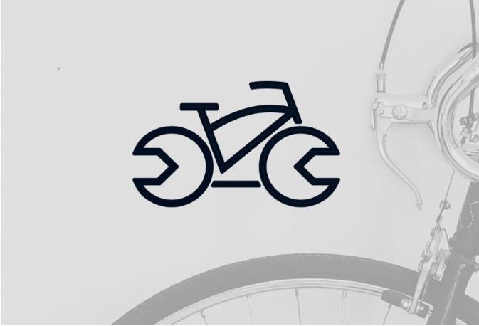 """<p><strong>Projekt:</strong> Logo dla serwisu rowerowego """"Trzy doliny""""</p>"""