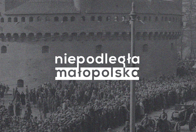 "Logotype and website of ""Independent Lesser Poland"""