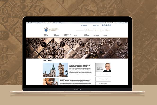 Nowa odsłona serwisu Archidiecezji Krakowskiej