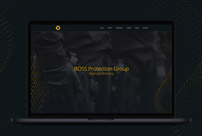 Website for BOSS Protection Group