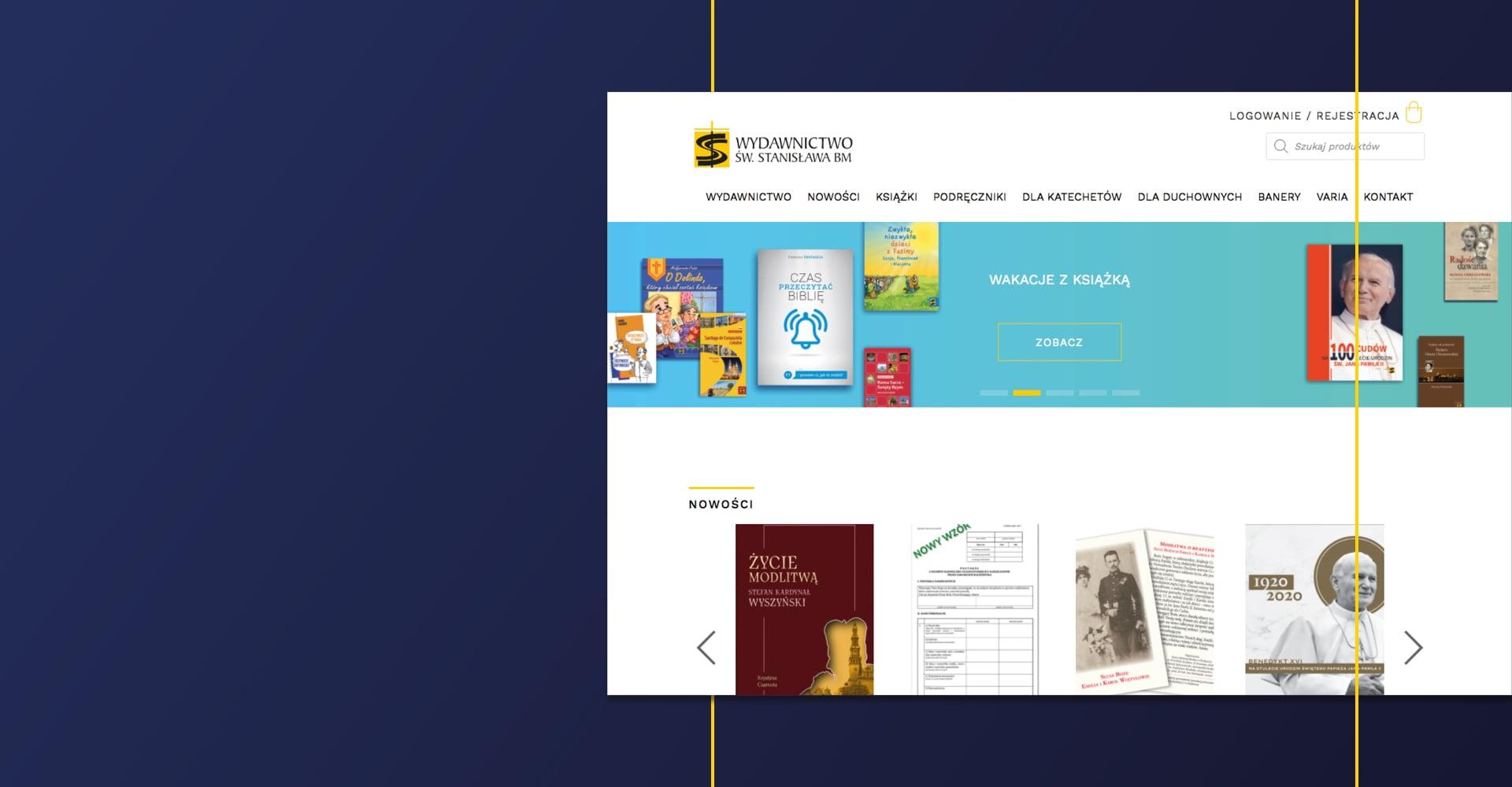 Portfolio TBC Project - Wydawnictwo św. Stanisława